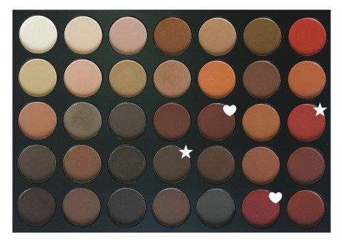 Morphe 35OM (Matte) Palette. More info on my blog.