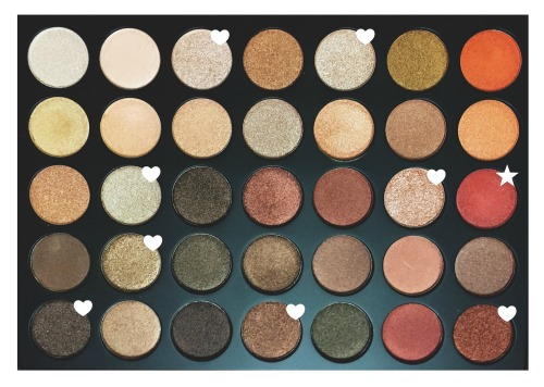 Morphe 35OS (Shimmer) Palette. More info on my blog.