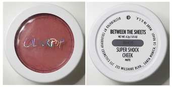 Colourpop Blush Between the Sheets - Ride or Die Makeup Tag