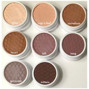 Colourpop Matte Shadow Pots